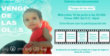 Cooperació al Desenvolupament presenta 'Vengo de las olas', el documental sobre una de les famílies refugiades supervivents de l'Aquarius