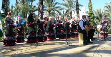 """Les celebracions del """"Rocío"""" d'Elx culminen en l'Hort de Baix amb una parenceria de genuí encís andalús"""