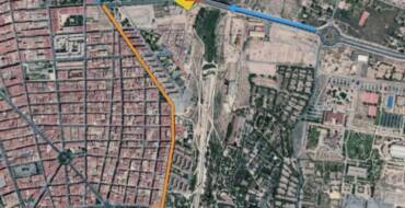 Corte parcial de tráfico en rotonda del Puente del Bimil·lenari