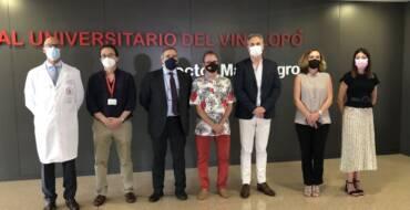 La concejala de Sanidad elogia el trabajo de las instituciones y los profesionales de la salud en un acto celebrado por el Hospital Universitario del Vinalopó