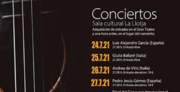 XXIII EDICIÓN DEL FESTIVAL DE GUITARRA 'CIUTAT D'ELX', BUSCANDO LA NORMALIDAD