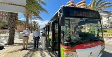 Movilidad amplía el recorrido del autobús circular de Arenales del Sol con una nueva línea en la calle Bahía
