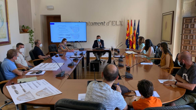 L'Ajuntament presenta a la comunitat educativa del centre l'avantprojecte del nou CEIP 37 que s'anomenarà 'Les Arrels'