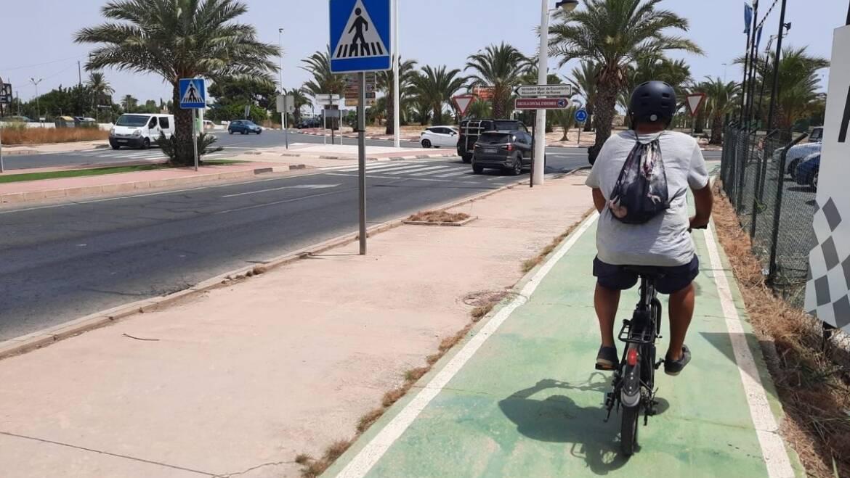 La Junta de Gobierno Local aprueba construir carriles bici en Elche Parque Empresarial y en el Polígono de Altabix