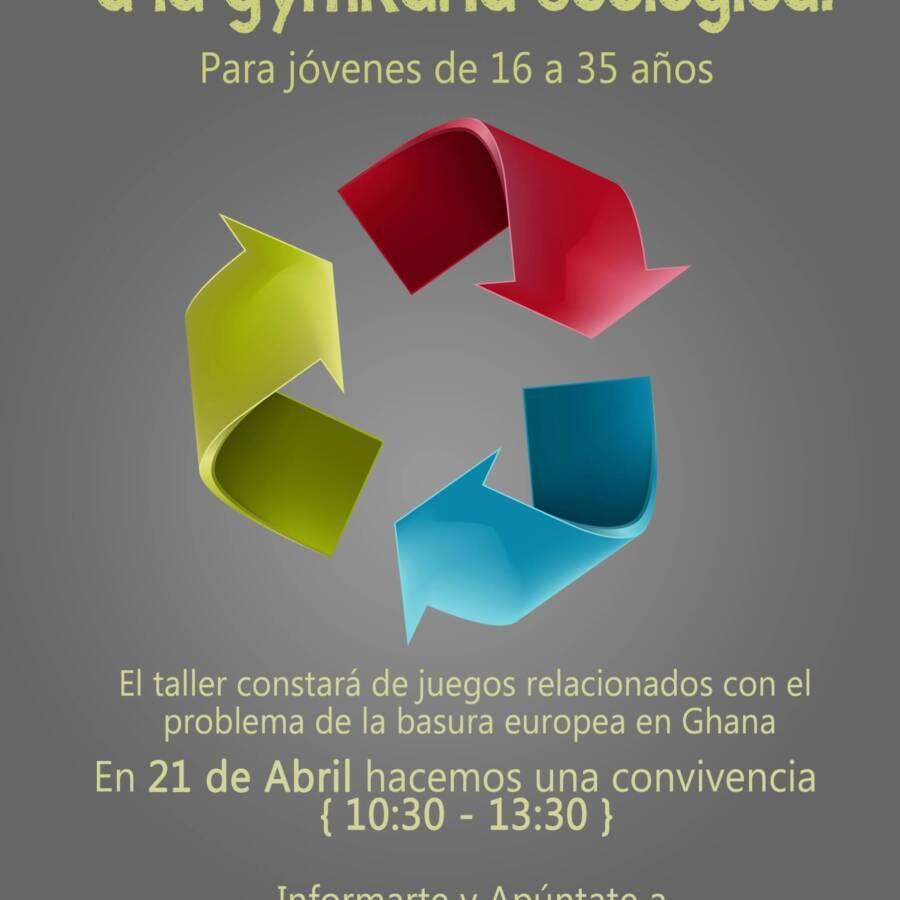 cartel de gymkna ecologica