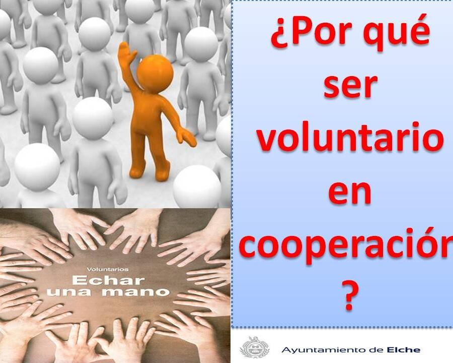 cartel porque ser voluntario 2