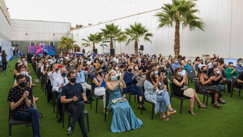 L'alcalde d'Elx destaca en els premis Alce la creativitat i el talent de les empreses de publicitat com a elements clau per a eixir de la crisi