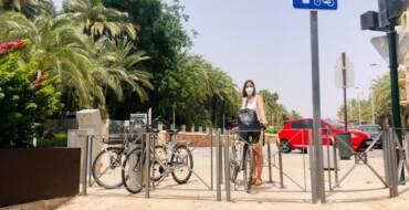 L'Ajuntament instal·la 36 nous punts d'aparcabicis per al foment de la mobilitat sostenible i l'ús de la bicicleta