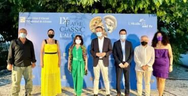 """El alcalde de Elche califica La Alcudia como """"un espacio con un indudable valor científico y patrimonial"""" en la novena edición del Festival de Teatro Clásico"""