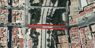 La circulación del Puente de Canalejas será cortada mañana por la noche con el fin de retirar los pretiles del mismo