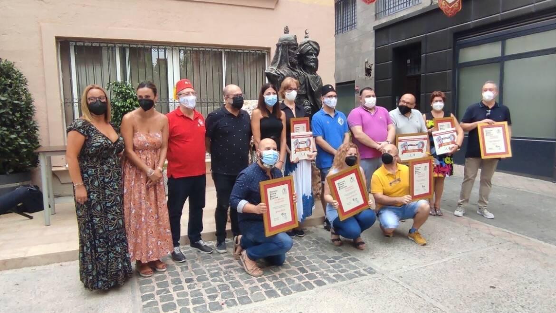 Les regidories de Festes i Comerç entreguen els premis de la III edició del concurs d'aparadorisme de Moros i Cristians