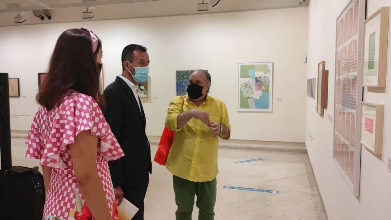 Una muestra en la Sala d'Exposicions del Gran Teatre recoge 80 años del arte abstracto español