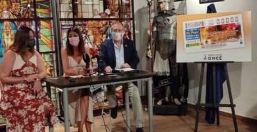 La imagen «Arde Altamira» protagonizará los cupones de la ONCE del día 18 de agosto para rendir homenaje a las fiestas de Moros y Cristianos de Elche