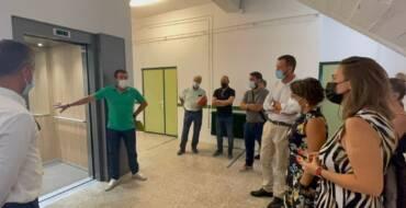 Educació instal·la un ascensor al CEIP Blasco Ibáñez per a millorar l'accessibilitat del centre