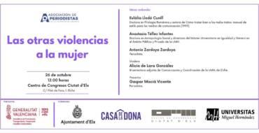 Mesa redonda 'Las otras violencias a la mujer' en el Centro de Congresos