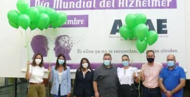 La sede de AFAE acoge la lectura del manifiesto con motivo del Día Mundial del Alzheimer