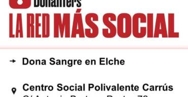 El Ayuntamiento y el Centro de Transfusiones organizan mañana una nueva donación de sangre en el centro Polivalente de Carrús