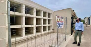 El Ayuntamiento de Elche amplía el Cementerio Nuevo con la construcción de 105 nuevos nichos