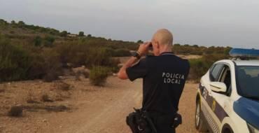 La Policía Local interviene varias armas en el comienzo de la temporada de caza