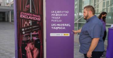 Igualtat inaugura la campanya 'Benvinguts a l'explotació' en contra del tràfic de dones i menors en la indústria del sexe