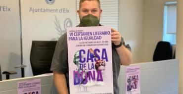 """El VI Certamen Literario para la Igualad """"Casa de la dona"""" bate récord de participación con 125 relatos cortos, 72 más que en 2019"""
