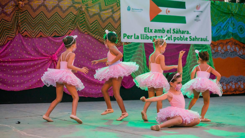 El Festival Solidari de Dansa compleix trenta edicions d'ajuda al poble sahrauí a través de l'art