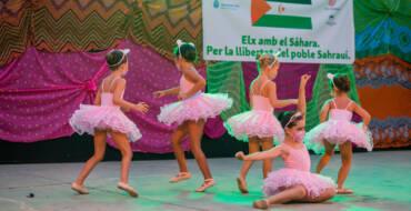 El Festival Solidario de Danza cumple treinta ediciones de ayuda al pueblo saharaui a través del arte