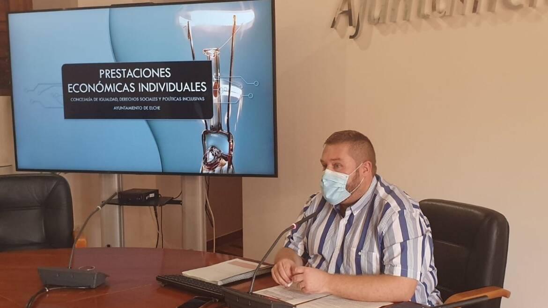 El Ayuntamiento de Elche ayuda con más de 2,5 millones de euros a 7.000 familias vulnerables