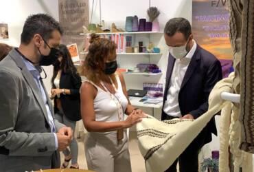 Satisfacción entre las firmas ilicitanas de componentes para el calzado tras la primera jornada de Lineapelle en Milán