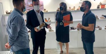 El alcalde considera que los buenos resultados en la Feria de Milán auguran una campaña para la recuperación del calzado ilicitano