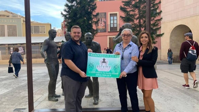 El Ayuntamiento intensifica junto con ASFEME la lucha contra los problemas de salud mental y su estigma