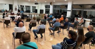 La Concejalía de Seguridad Ciudadana y 'Veïns en Alerta' celebran un encuentro para estrechar su colaboración