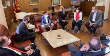 Una delegació georgiana s'interessa pel model de gestió del Parc Empresarial de Torrellano